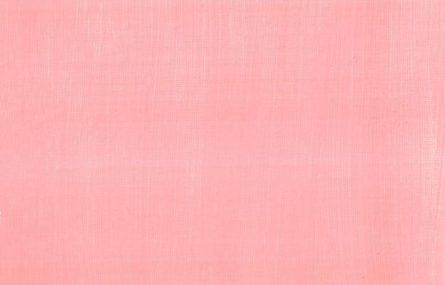 Textura de pintura rosa pastel sobre fundo abstrato de papel de tela espaço em branco limpo mínimo