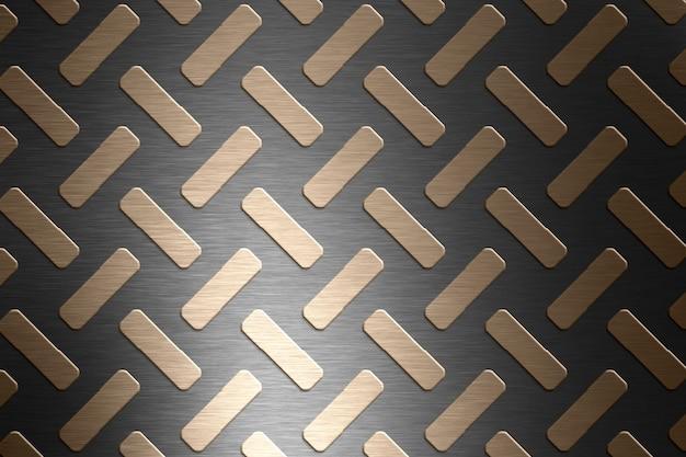 Textura de piso de aço ou fundo