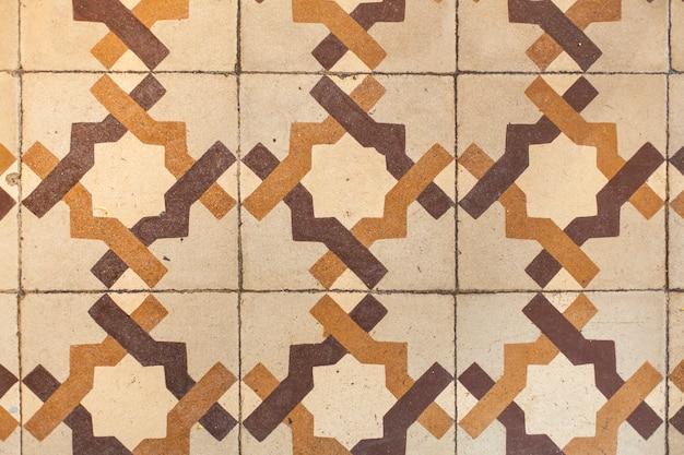 Textura de piso de azulejos