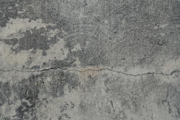 Textura de piso de cimento crack