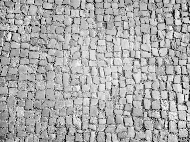 Textura de piso de pedras quadradas