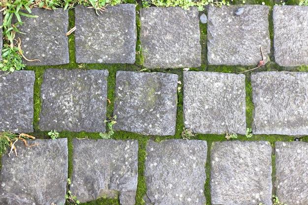 Textura de piso de tijolos