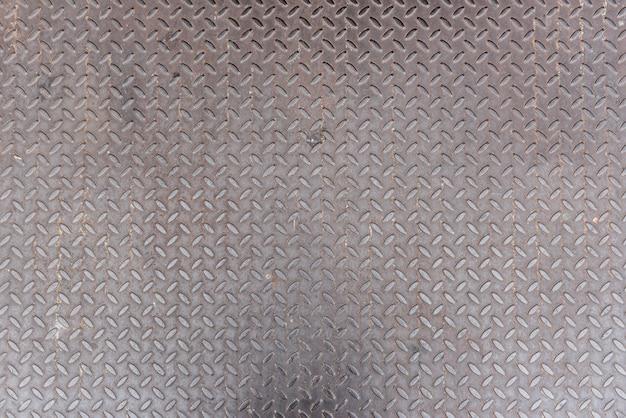 Textura de placa de ferro de diamante como pano de fundo