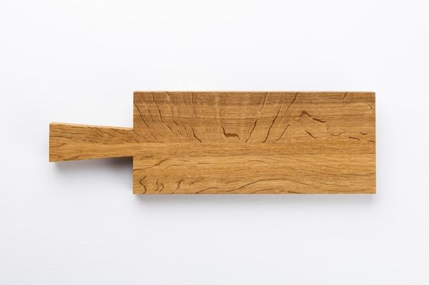 Textura de placa de madeira velha isolada em branco