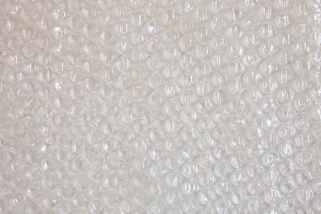 Textura de plástico de embrulho