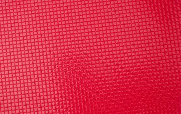 Textura de plástico vermelho, quadro completo, close-up