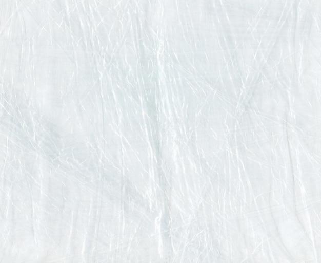 Textura de polietileno branco. textura de saco de polietileno.