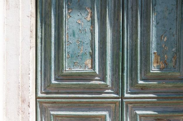 Textura de porta à moda antiga
