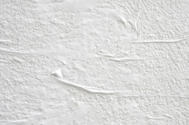 Textura de pôster de papel amassado branco