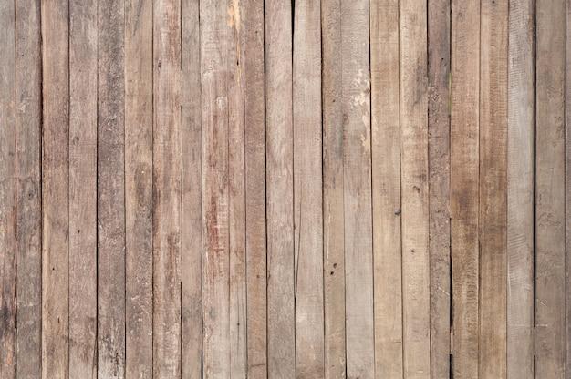 Textura de pranchas danificadas
