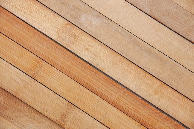 Textura de pranchas de madeira de vista superior
