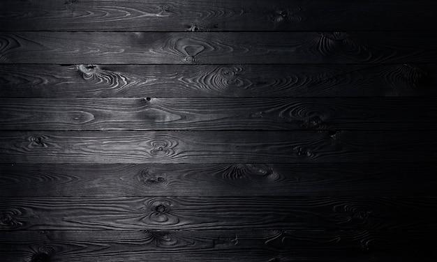 Textura de pranchas de madeira velha, de madeira preta