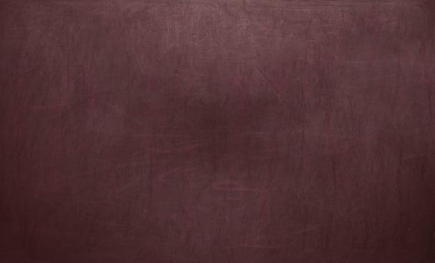 Textura de quadro-negro / lousa. lousa vermelha em branco vazia