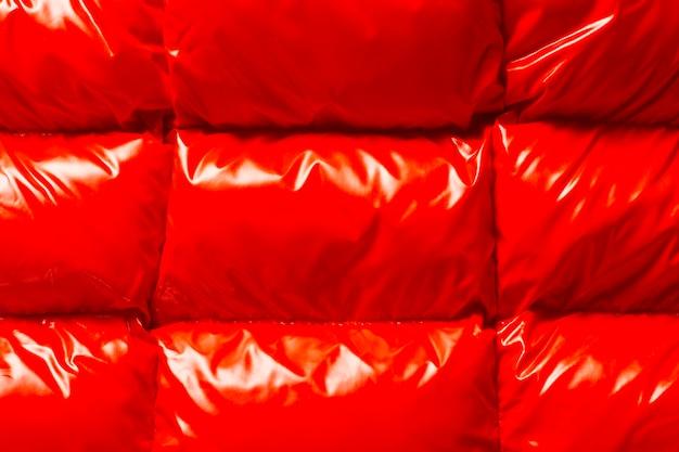 Textura de revestimento brilhante liso vermelho