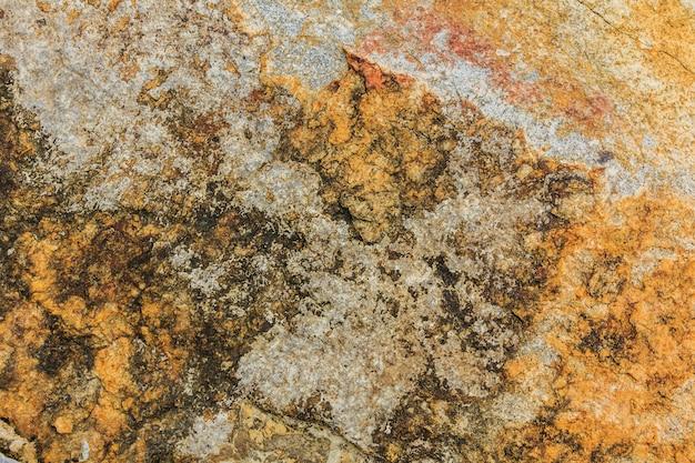 Textura de rocha colorida