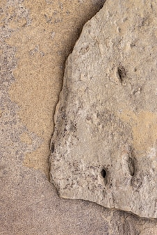 Textura de rocha natural de vista superior