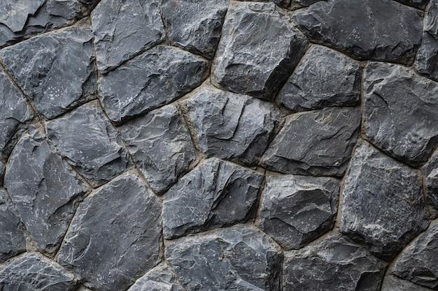 Textura de rocha, parede de pedra