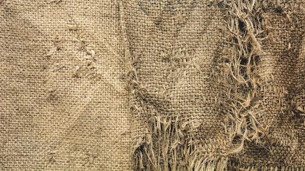 Textura de saco danificado - estilo vintage