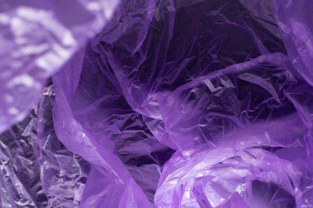 Textura de saco de plástico um abstrato