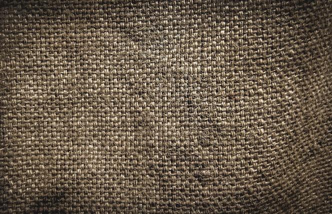 Textura de saco marrom