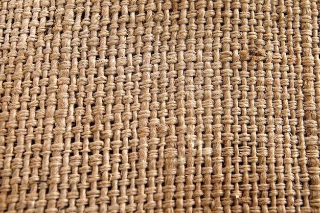 Textura de saco para plano de fundo