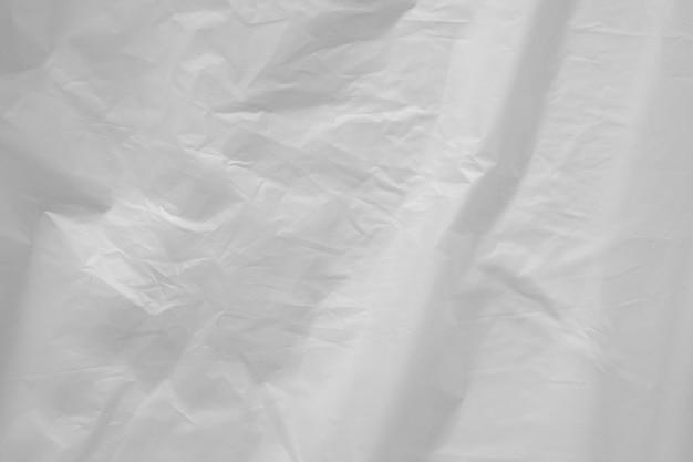 Textura de saco plástico branco