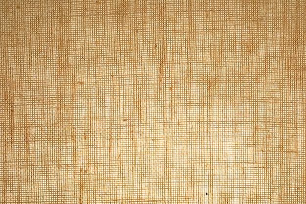 Textura de saco vertical com fibras visíveis.