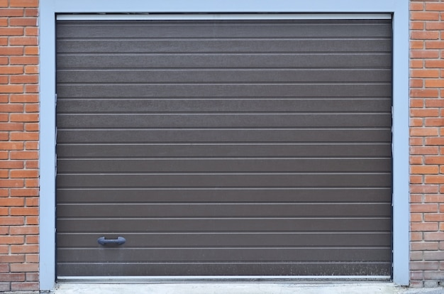Textura de shutterdoor de garagem