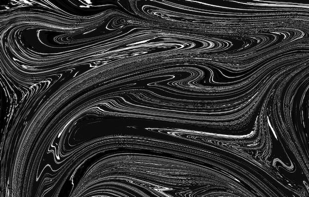 Textura de sobreposição desgastada de metal enferrujado descascado grunge preto e branco textura urbana escura bagunça