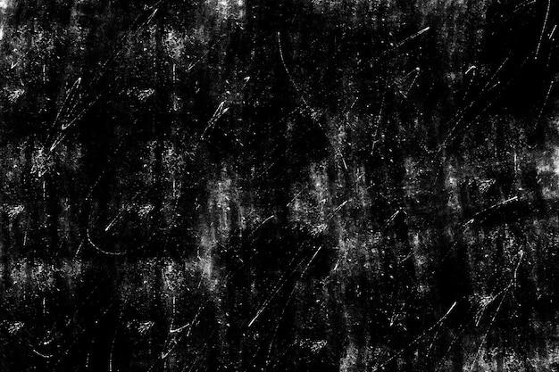 Textura de sobreposição desgastada de metal enferrujado descascado textura urbana preto e branco grunge