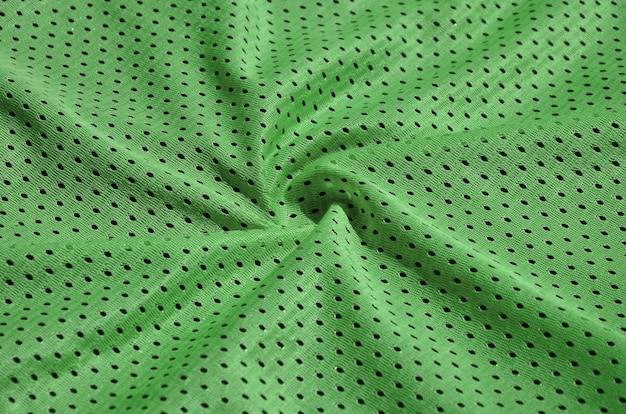 Textura de sportswear feito de fibra de poliéster