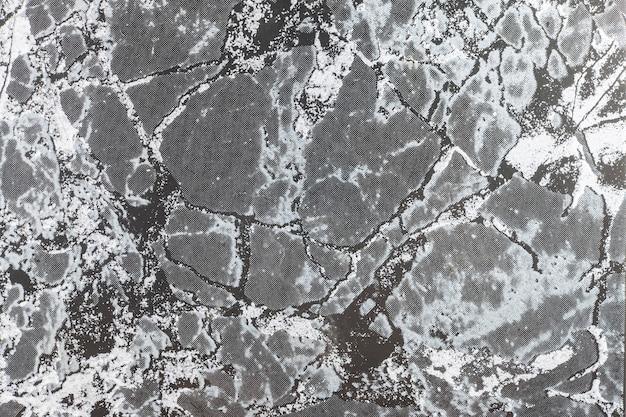 Textura de superfície de mármore com tonalidade preta