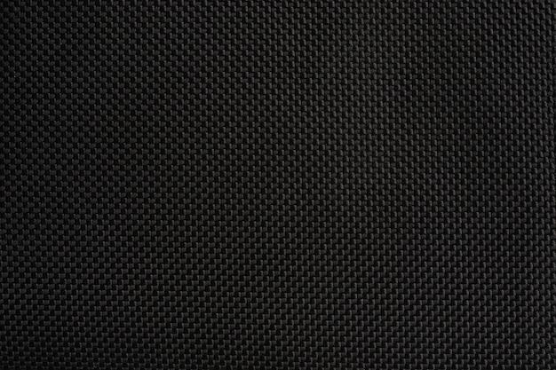 Textura de superfície de tecido sintético preto projeto de fundo de alta resolução