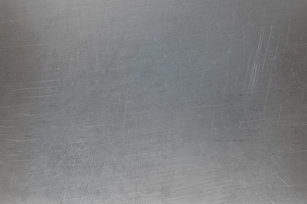 Textura de superfície metálica riscada