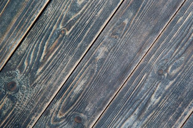 Textura de tábuas de madeira marrons velhas