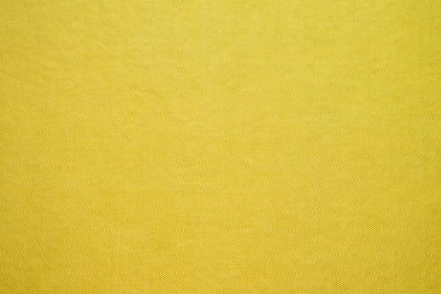 Textura de tecido amarelo abstrato