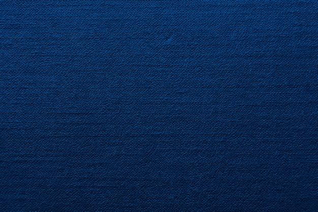 Textura de tecido azul cor