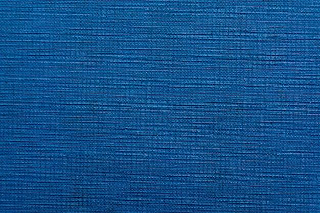 Textura de tecido azul