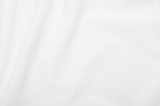 Textura de tecido branco, padrão de pano.