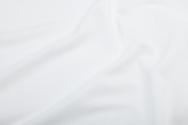 Textura de tecido branco, pano de fundo.