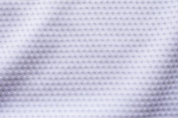 Textura de tecido branco para roupas esportivas
