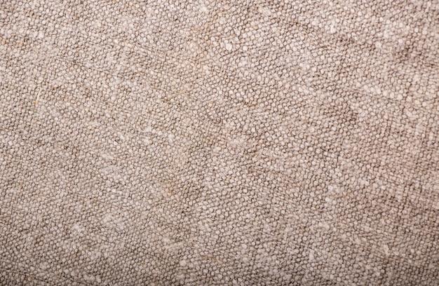 Textura de tecido cinza elegante com textura de pano de saco com superfície texturizada