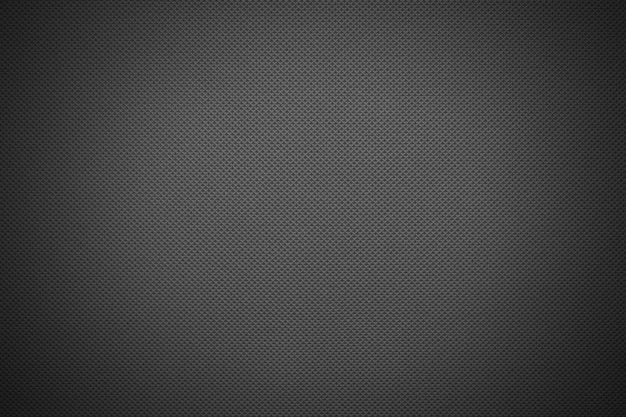Textura de tecido cinza escuro com vinhetas
