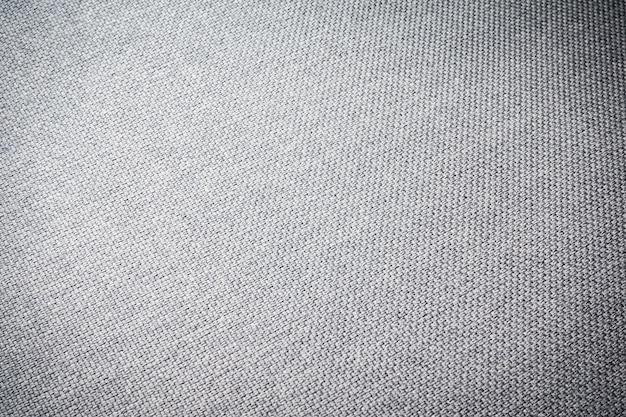 Textura de tecido cinza