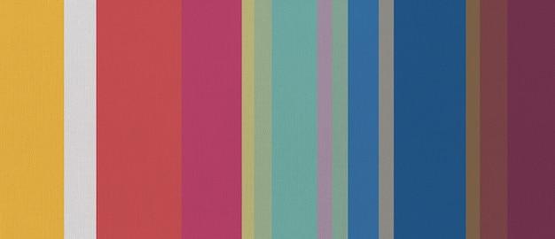 Textura de tecido de algodão estampado com listras coloridas. fundo.