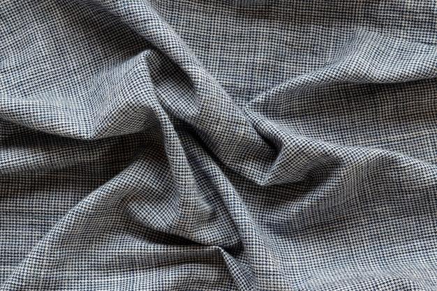 Textura de tecido de camada plana