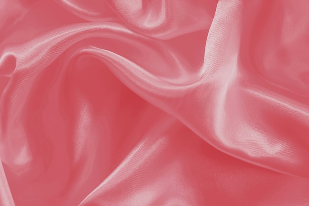 Textura de tecido de cor rosa de ouro para plano de fundo e design