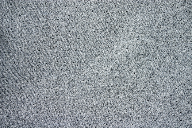 Textura de tecido de lã cinza.