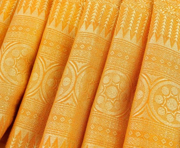 Textura de tecido de onda abstrata