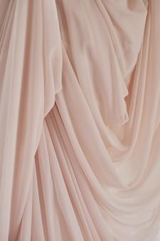Textura de tecido rosa para abstrato, design e papel de parede